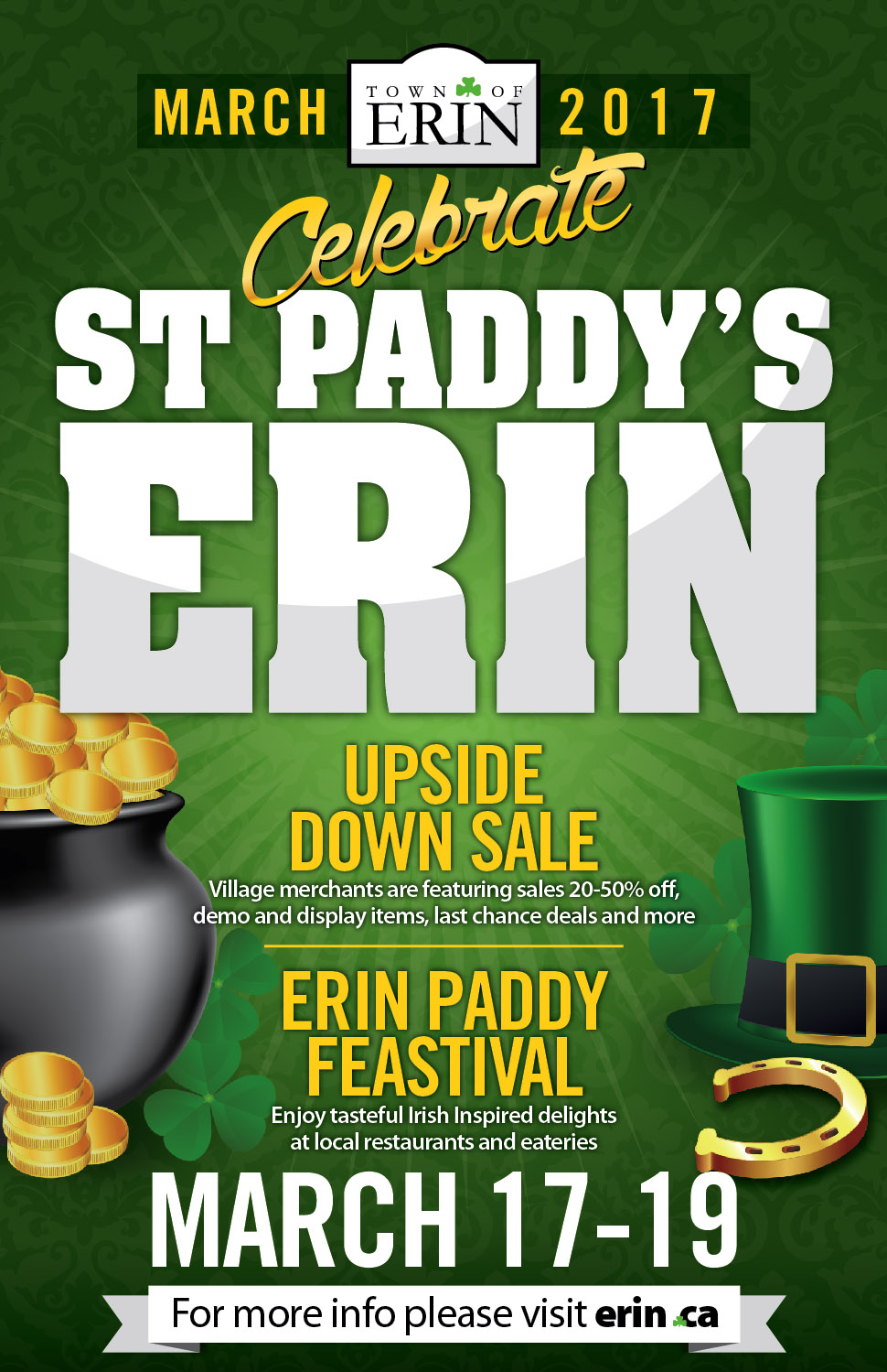 St Paddy's 2017 Poster